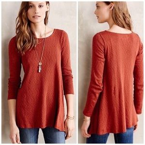 Anthropologie Puella Melette Jersey Tunic Pullover